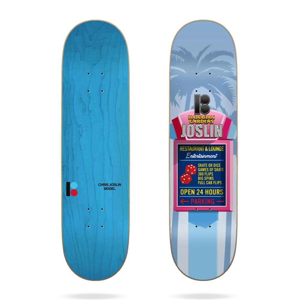 plan b joslin hawaiian 8.25 skateboard deck